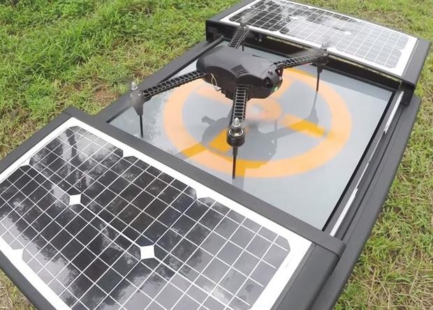 Уютное местечко для дронов