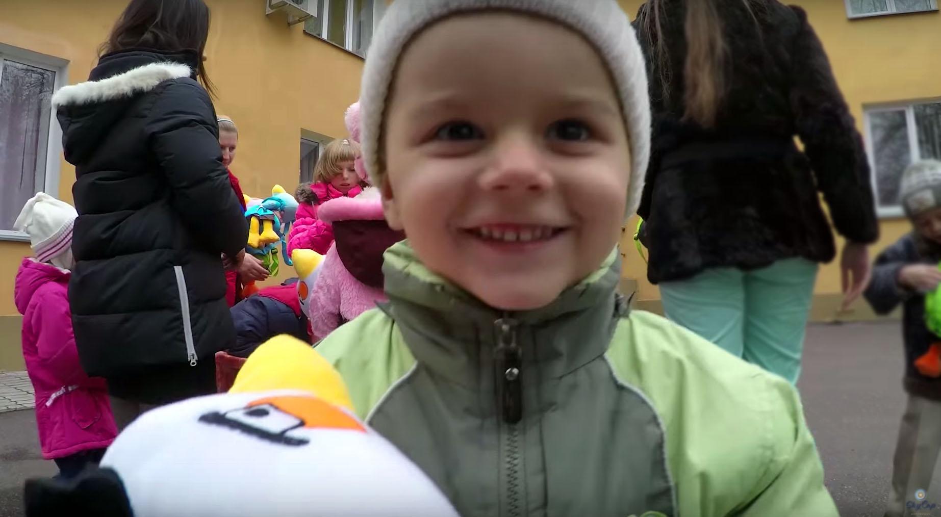 День Святого Николая в детском доме «Світанок»