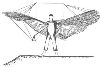 Первые безмоторные летательные аппараты со статичным крылом