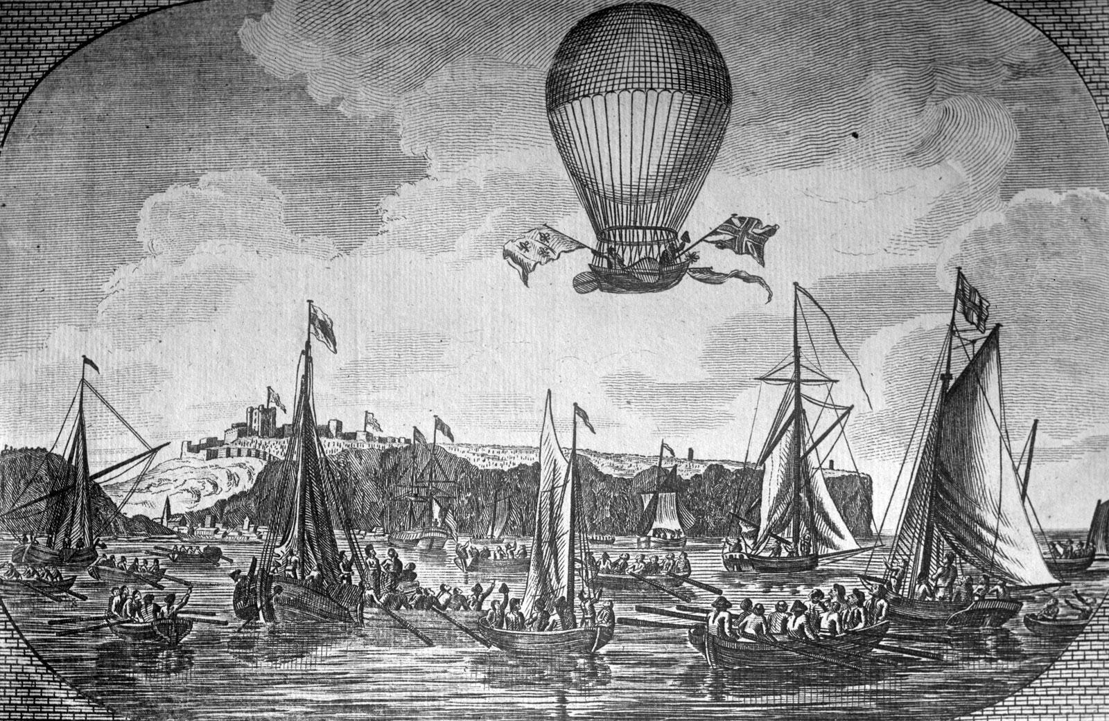 Как изобрели парашют