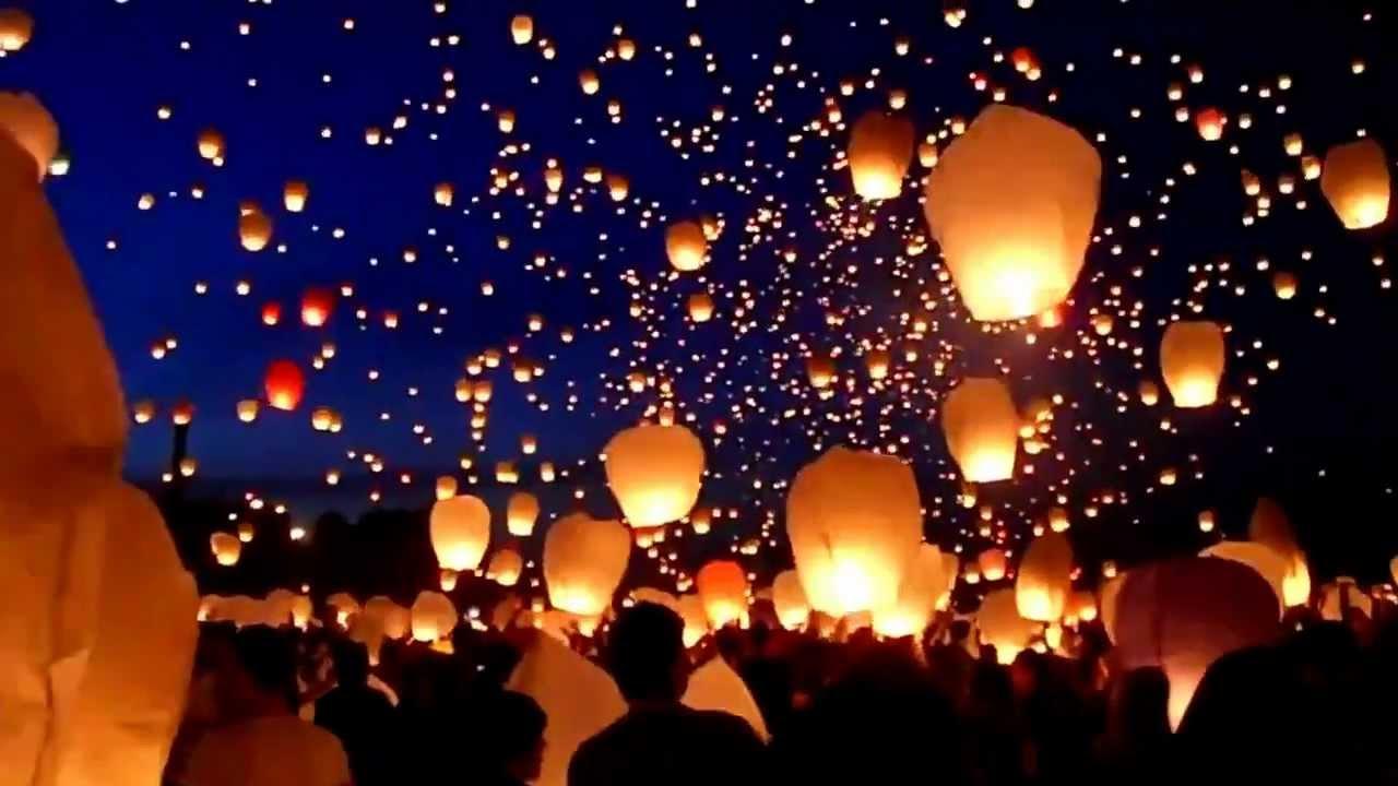 История возникновения небесных фонариков