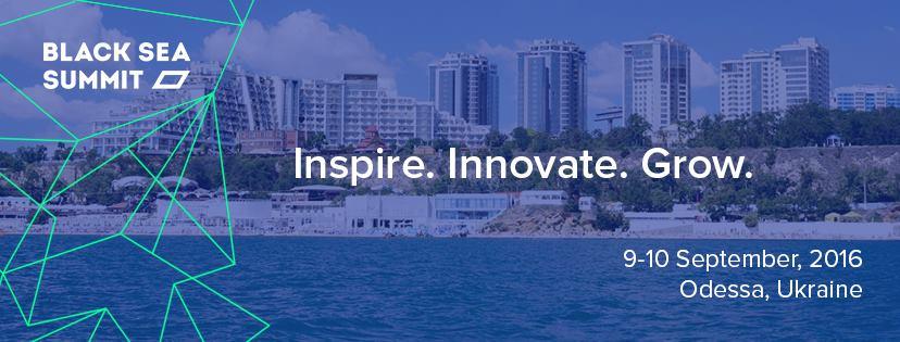 9-10 сентября в Одессе состоится Black Sea Summit 2016