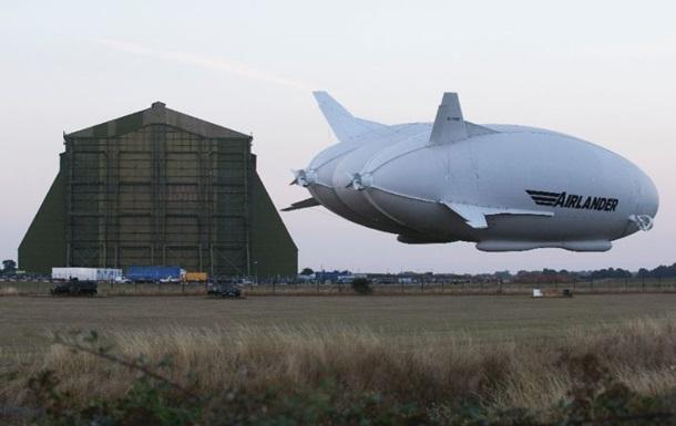 Самый большой гибрид летательного аппарата совершил свой первый полет