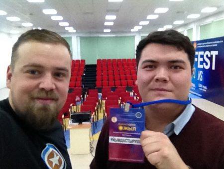 SkyCap занял III-е место на Евразийском  фестивале видеороликов «25 лет независимости» в Казахстане