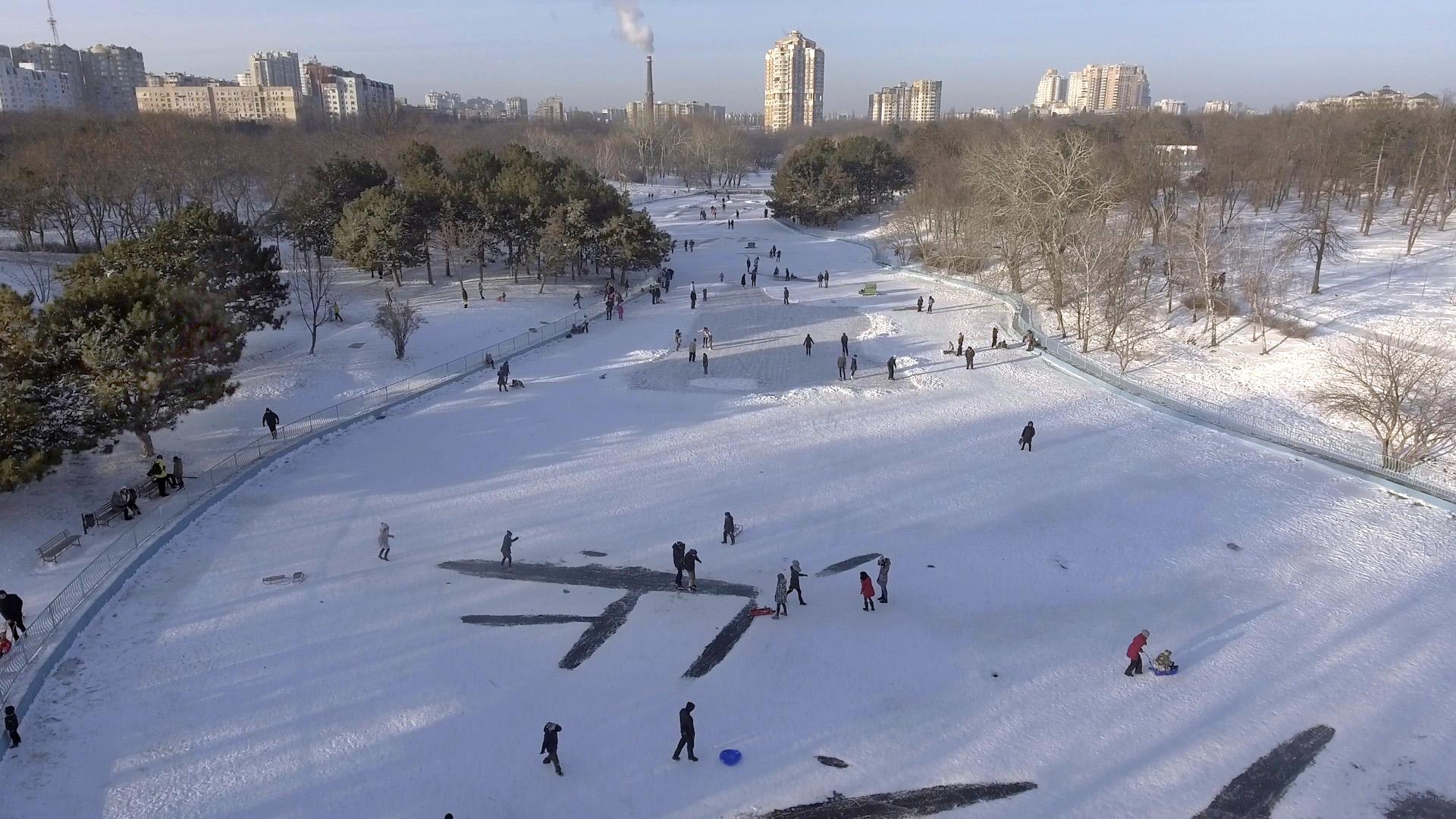 Зимняя Одесса 2017
