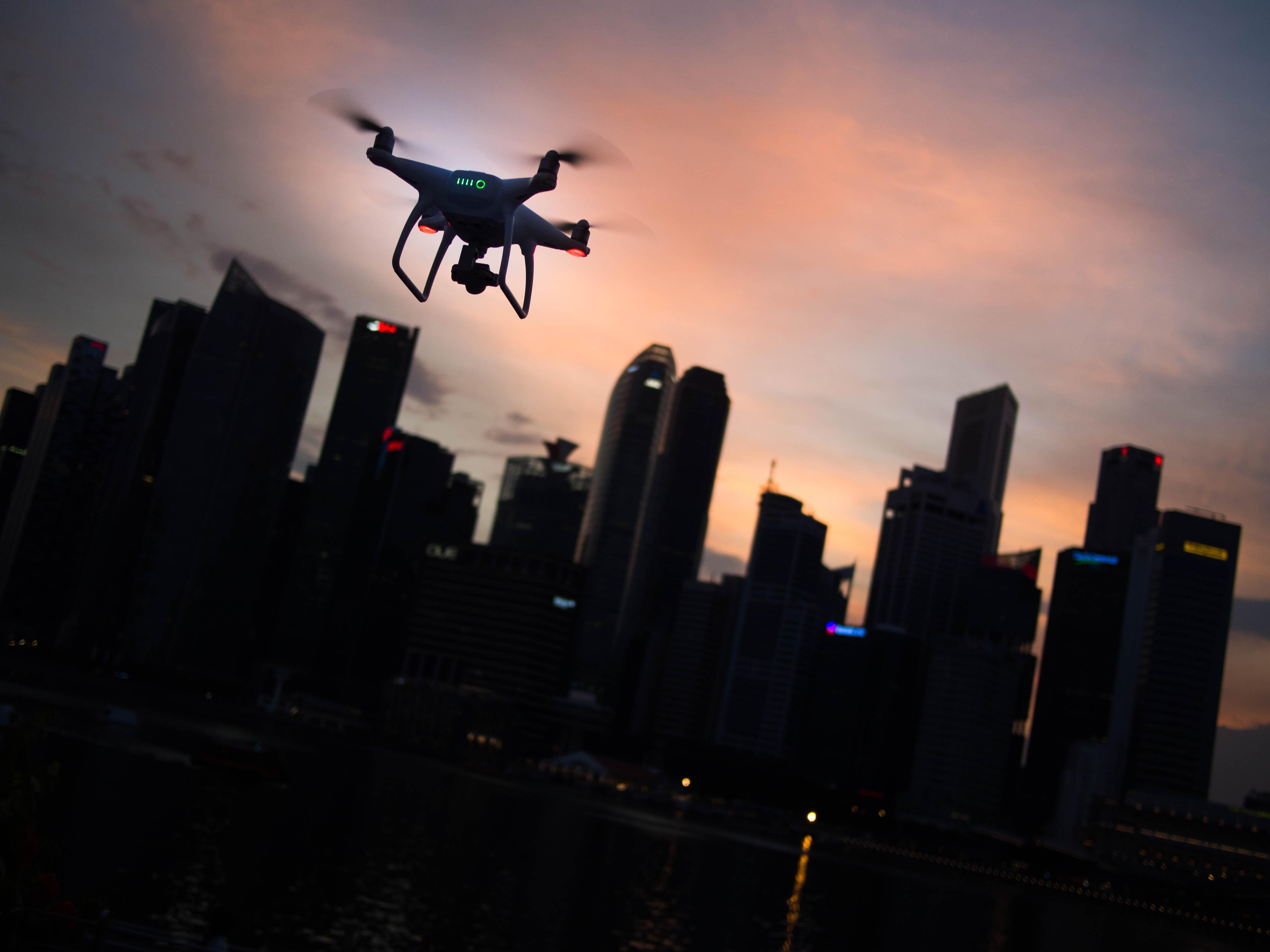 Компания Amazon запатентовала парковки для дронов