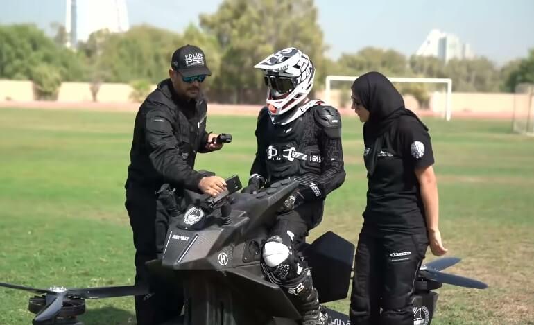В Дубае появятся летающие полицейские